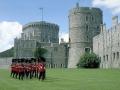 Виндзорский замок – резиденция королевского семейства. Англия
