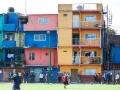 Буэнос-Айрес: трущобы в центре города
